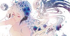 Anime Original Girl Flower Wallpaper More Wallpaper, Original Wallpaper, Flower Wallpaper, Wallpaper Backgrounds, Beautiful Anime Girl, Cool Watches, Background Images, Pink Flowers, The Originals