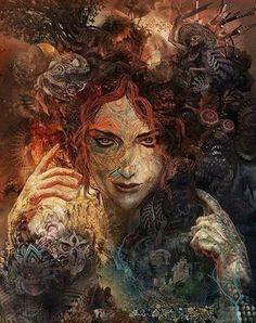 Ave Hecate! Славься Геката - богиня луны и ночи!
