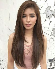 Pretty girl from Philippines Beautiful Celebrities, Beautiful Women, Prom Make Up, New Girl Style, Filipina Girls, Philippine Women, Filipina Beauty, Asian Woman, Hair Color