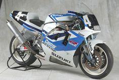Photos: 33 Years of Suzuki Endurance Road Racing - Asphalt & Rubber Gsxr 750, Suzuki Gsx R 750, Suzuki Bikes, Suzuki Motorcycle, Moto Bike, Street Motorcycles, Street Bikes, Motocross Bikes, Sport Bikes