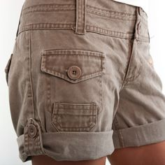 Lonesome George & Co.'s Women's Cargo Shorts    http://www.lonesomegeorge.net/collections/women/products/shorts