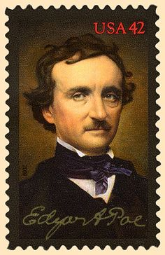 Detective Fiction on Stamps: United States 2009: Edgar Allan Poe