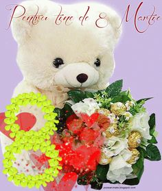 8 Martie, 8th Of March, Seasons, Toys, Spring, Christmas, Blog, Film, Flowers