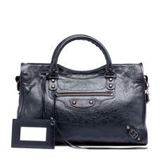 Balenciaga Classic City Bag - Black with classic hardware