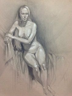 Some more finished life drawings from class. These are about a year old now I think