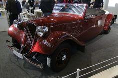 citroen cabriolet 11CV de 1938.