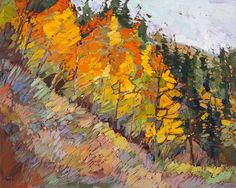 The Vibrant World of Erin Hanson Landscapes - Art People Gallery
