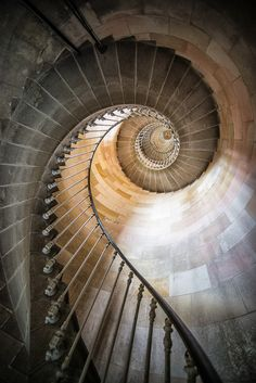 Phare des baleines (Lighthouse of the whales), Ile de Re, France by Jean Isard Beautiful Architecture, Art And Architecture, Architecture Details, Grand Staircase, Staircase Design, Classification Des Arts, Beautiful Stairs, Take The Stairs, Stair Steps