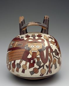 . Vessel  Artist Unknown (Nazca) (Peru, South America), 1st century B.C.-A.D. 6th century