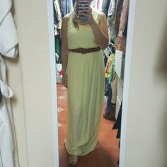 CHELSEA & VIOLET MAXI DRESS Brand new with tags still attached maxi dress! Perfect for spring /summer. Comes with detachable belt as well. Purchased for over 128.00!!! Sandals are available in another listing. Make me an offer! Chelsea & Violet Dresses Maxi