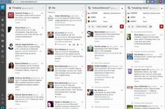 TweetDeck has a new white look and a makeover from Twitter