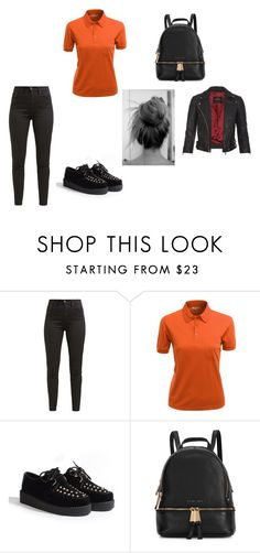 """Sans titre #4214"" by heidi-samoyau ❤ liked on Polyvore featuring Levi's, TC Fine Intimates, Michael Kors and AllSaints"