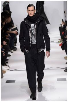 #Menswear #Trends Y 3 Fall/Winter 2015  Collection Otoño Invierno #Tendencias #Moda Hombre - Aviation Bound