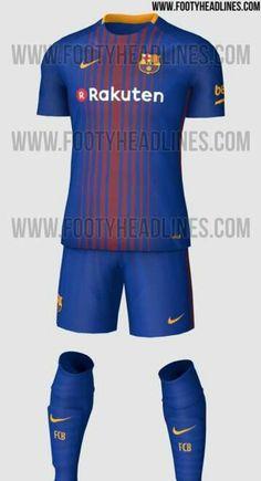 2018-2017 New Barcelona Kit  home  Futbol Europeo e2e24641b93ac