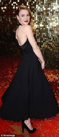 Amy Kelly Low-cut black dress