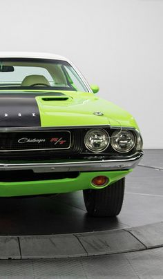 This Dodge Challenger R-T with a MONSTER 440 Six Pack IS packing some serious horsepower under the hood #WildWednesday
