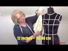 ▶ Draping a Strapless Bodice - Lesson 2 Taster - YouTube