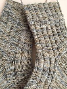 Knitting Patterns Socks Ravelry: Bill Huggins pattern by Claire Ellen Crochet Socks, Knitting Socks, Hand Knitting, Knit Crochet, Crochet Deer, Knit Socks, Debbie Macomber, Learning To Embroider, Patterned Socks