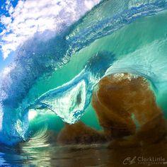Huge barrel, surf, surfing, waves, big waves, barrel, ocean, sea, water, swell, surf culture, island, beach, salt life, #surfing #surf #waves
