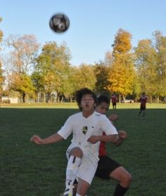 Varsity Soccer.  Fall Foliage.  It does not get any better at Grand River Academy.