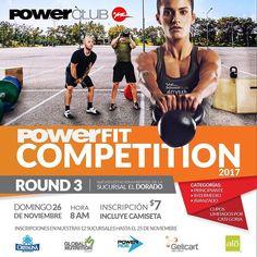 HOY!! Última competencia del año @PowerClubPANAMA #PowerFitCompetition #ROUND3 #Domingo 26 de Noviembre estacionamientos suc. #ElDorado  inscripciones abiertas en todas las sucursales  cupos limitados #YoEntrenoEnPowerClub #PowerFit