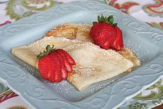 20 festive and delicious breakfast recipes that will help you have a picture perfect Christmas morning meal—Crepes
