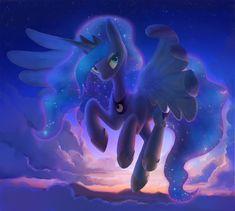 Princess Luna by *Celebi-Yoshi