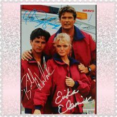 Billy Warlock, Erika Eleniak, Sports Nautiques, Tv Show Quotes, Baywatch, Lifeguard, Famous Celebrities, Childhood Memories, Tv Series