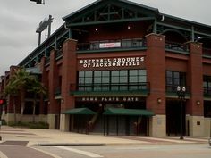 The Baseball Grounds of Jacksonville - Home of the Miami Marlins affiliate Jacksonville Suns