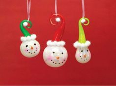 6 Christmas Ornaments by Gordon Companies, Inc. $97.50. Shipping Weight: 3.00 lbs. Please refer to SKU# ATR25769510 when you inquire.. Brand Name: Gordon Companies, Inc Mfg#: 30691611. Picture may wrongfully represent. Please read title and description thoroughly.. This product may be prohibited inbound shipment to your destination.. 6 Christmas ornaments/snowman heads/fully dimensional/hangers included/8''L-10.5''L/made of glass/you get 2 of each of the 3 styles
