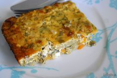 Greek Recipes, Lasagna, Quiche, Make It Simple, Food And Drink, Cooking Recipes, Breakfast, Ethnic Recipes, Easy