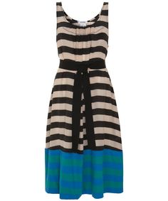 {stripes, dipped} by Sonia Rykiel - this is a great idea for a simple summer dress