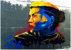VAMOS LÁ SABER COMO É...: STREET ART nas ruas e muros da cidade  -  4 de Out...
