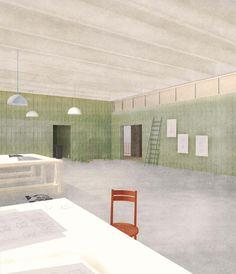 Wellblech weg mit Winking Froh - Wettbewerb für Atelierhaus der HFBK Hamburg entschieden