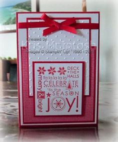 Season of Joy by krismac - Cards and Paper Crafts at Splitcoaststampers