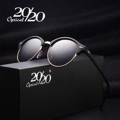 9fb29e1cc43 20 20 Retro Rivet Polarized Sunglasses Men Classic Brand Designer Unisex  Sun Glasses Oculos Gafas