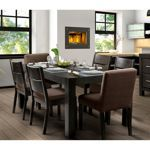 In Town Charcoal 7-pc. Dining Set