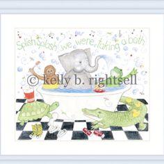 For baby bathroom on bright peridot green wall and white linens White Linens, Baby Bathroom, Peridot, Bright, Wall, Green, White Bed Sheets, Peridots, Walls
