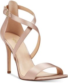 3236eb4b967f3b Nine West Mydebut Evening Sandals - Tan Beige 5M