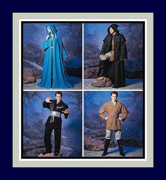 STAR WARS Costume Sewing Pattern Jedi by FarfallaDesignStudio, $20.00
