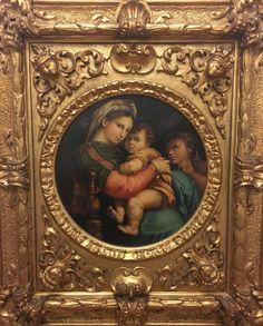 The Madonna della Sedia V.Bianchine after Raphael - AV-Pfandhaus Shop Madonna, Mona Lisa, Artwork, Shop, Raffaello, Art, Work Of Art, Store