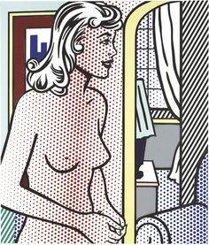 Roy Lichtenstein - Nude in Apartment, 1995