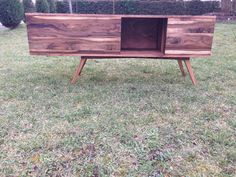 Chest of drawers made of solid Walnut