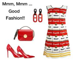 """""""Mmm, Mmm Good Fashion! (contest)"""" by scolab ❤ liked on Polyvore featuring Gianvito Rossi and Marni"""