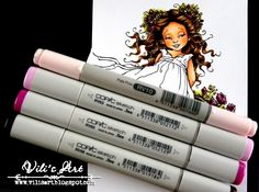 How to make deep folds with Copics