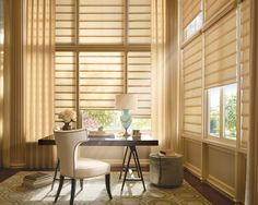 Create a modern look and a contemporary feel to your home with the Luxaflex Modern Roman Shade. #luxaflex #romanshades #luxaflexromanshades #interior #interiordesign #childsafety #childfriendly #contemporarydesign