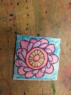 Art Room Blog: Printmaking Walk-Up Workshop VAEA 2015 Step-by-Step Lesson Plan...