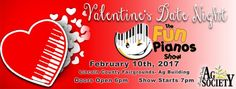 Fun Pianos at the Lincoln County Fairgrounds in North Platte February 10.