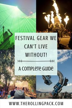 Festival gear we can't live without! Festival essentials. Festival accessories. A complete guide to festival camping gear. Festival style. Festival clothing. Festival outfits. Burning Man gear. Burning Man camping. We are in our 6th season of festival hopping, let us help you plan and pack for your next camping festival! Click visit to read more! #campingessentials