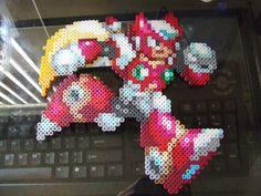 Zero Megaman X Pixel Art Bead Sprite by MelParadise on Etsy